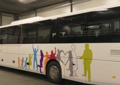 Autobusbelettering GO!